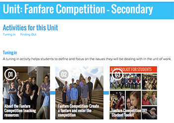 fanfare-online-resources